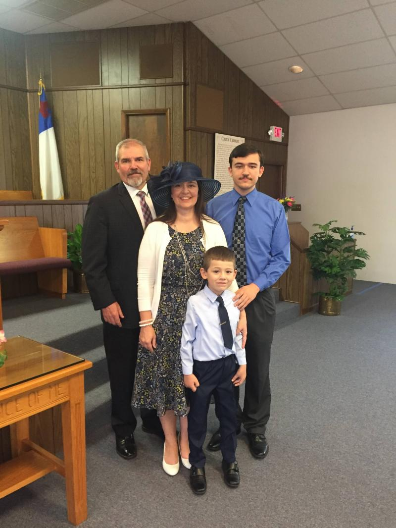 Pastor Pierce and Family